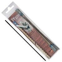 Lames-tiges pour scie à chantourner, dents crochet, Pégas, 6 pièces