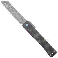 Folding Knife Liner Lock Carbon