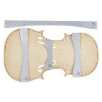 Herdim Arching Templates, 4-Piece Set, Top, Violin, Strad Mediceo 1727