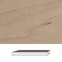 Birch, 300 x 40 x 40 mm