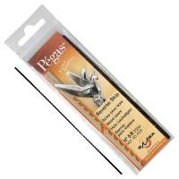 Lames de scie à chantourner Pégas Skip Reverse, largeur lame 1,02 mm, 12 pièce