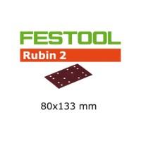 Festool Abrasifs STF 80 x 133 P80 RU2/50