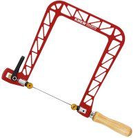 Knew Concepts Coping Saw, Heavy Duty, with Swivel Blade, Jaw depth 200 mm