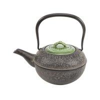 Teekanne Hosokuchi Maruhada, Bambusdekor