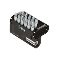 Wera Standard Bit Set in Bit-Check, 12-Piece Set
