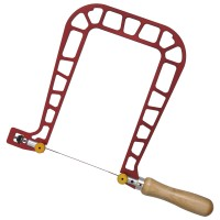 Knew Concepts Coping Saw, Jaw Depth 200 mm