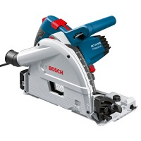 Bosch Plunge-cut Saw GKT 55 GCE Professional in L-BOXX + Guide Rail 1,6 m