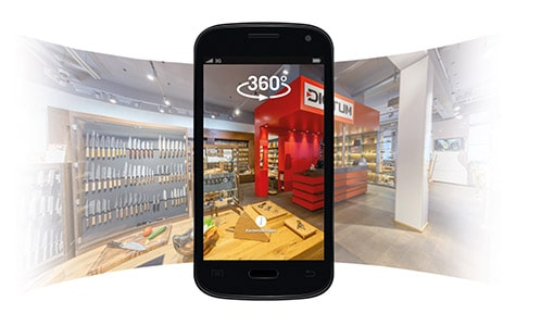 Virtueller Rundgang Shop München