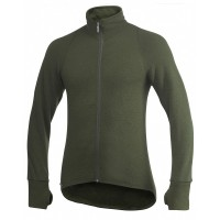 Woolpower Cardigan, Green, 600 g/m², Size S