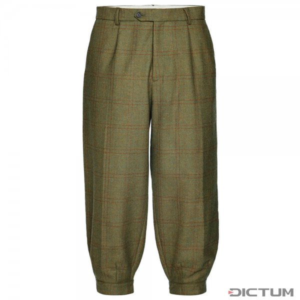 Purdey Herren-Kniebundhose, Tweed, Bembridge, Größe M