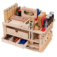 "DICTUM工具架""细木工,内部配件"",配备,42件。"