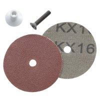 Heavy Duty Sanding Discs for Arbortech Contour Random Sander, 25 pcs, P60 - 320