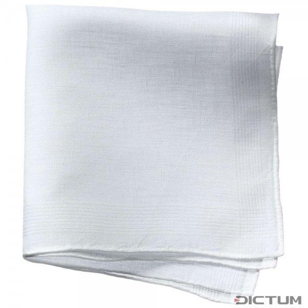 Taschentuch, Reinleinen, weiß