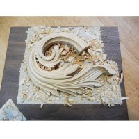 Relief Carving with Mary May