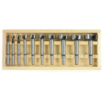 Forstner Bits, 10-Piece Set