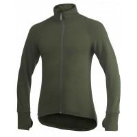 Woolpower Cardigan, Green, 600 g/m², Size L