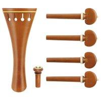 c:dix Classic Set, Boxwood, White Trim, 6-Piece Set, Violin 4/4, Medium