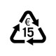 15,- € Recycling pass