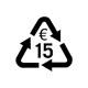 15,- € 回收证
