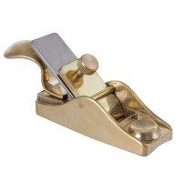 Rabot de touche Herdim avec poignée, semelle concave, largeur du fer 23mm
