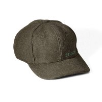 Filson Wool Logger Cap, Forest Green