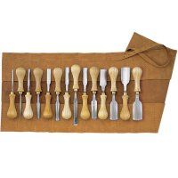Swedish Scroll Gouges, 14-Piece Set